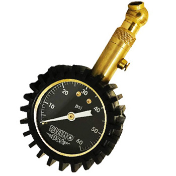 Rhino USA 60 PSI Tire Pressure Gauge