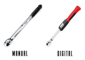 digital vs manual torque wrench