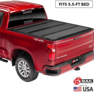 BAK BAKFlip MX4 Hard Folding Truck Bed Tonneau Cover (2)