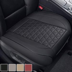 Black Panther Luxury PU Leather Car Seat Cover Cushion