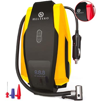 Helteko Portable 150PSI 12V Digital Tire Inflator
