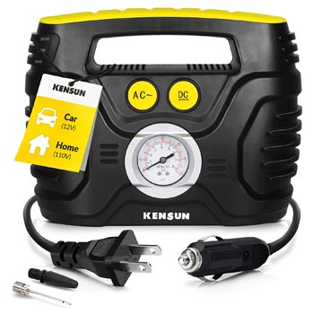 Kensun Portable Air Compressor Pump for Car 12V DC