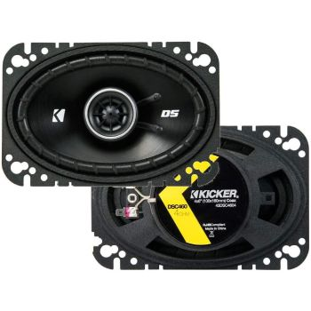 Kicker 43DSC4604 2-way Speaker Pair