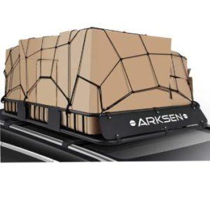 RKSEN 64″ Universal Black Roof Rack Cargo