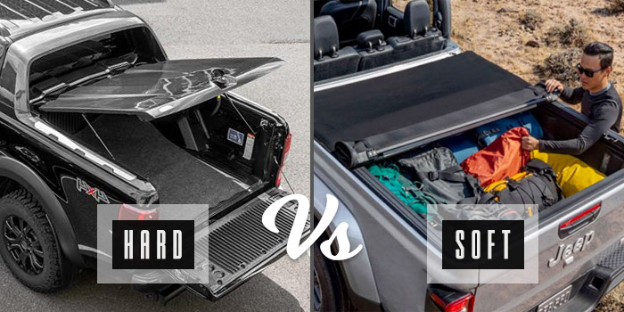hard vs soft tonneau cover