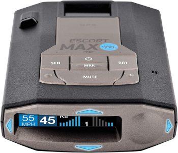 Escort MAX360C Laser Radar Detector_