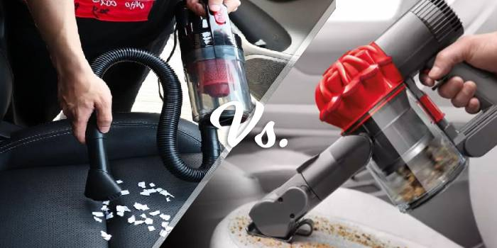 corded vs cordless vacuum cleaner for car