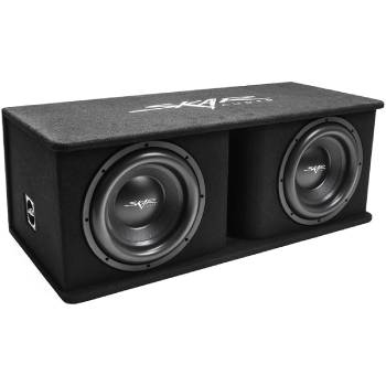 Skar Audio Dual 2400W Loaded SDR Series Vented Subwoofer Enclosure