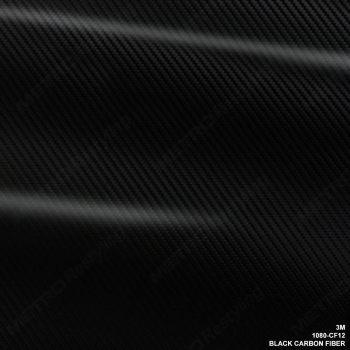 3M 1080 CF12 CFS12 Black Carbon Fiber